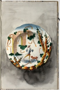 wassermann-design-for-ceramic-plate-from-album-of-designs-for-ligurian-majolica