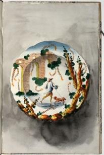 wassermann-design-for-ceramic-plate-from-album-of-designs-for-ligurian-majolica